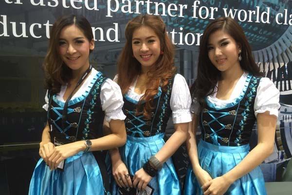 Messebau in Asien