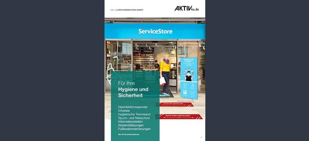 Hygieneschutz Katalog